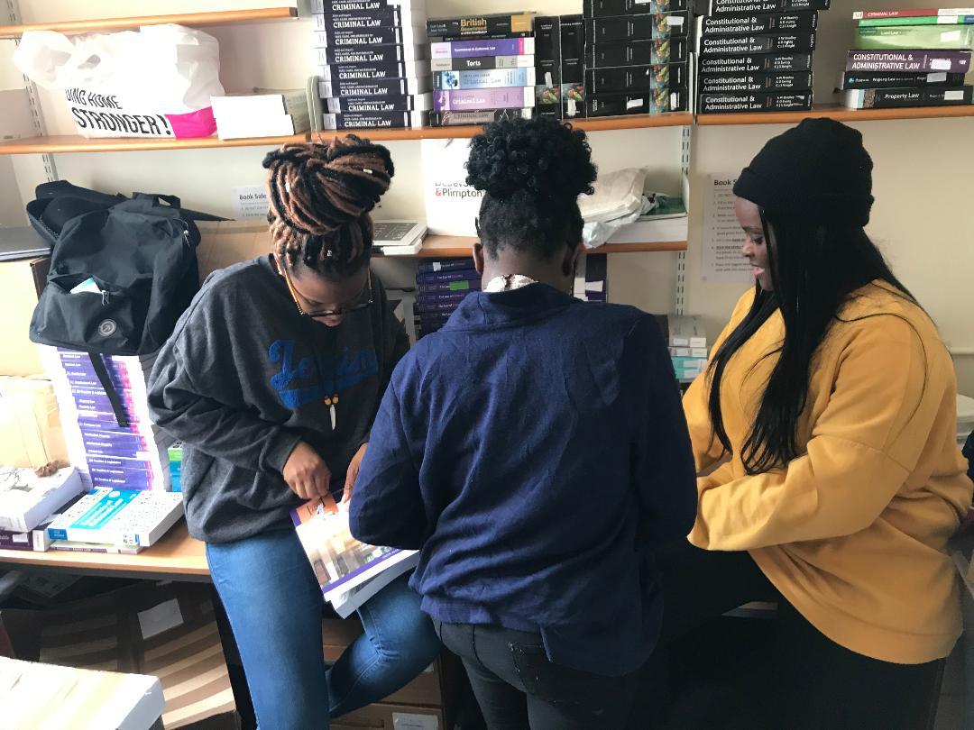 JLAP at Nottingham University send books to Sierra Leone with ILBF