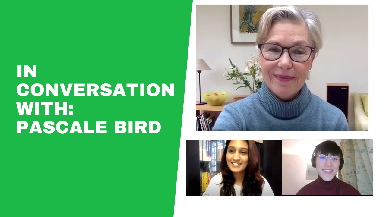 In Conversation With: Pascale Bird